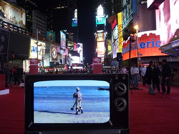 My American Uncle Antonio Ortuño times square New York