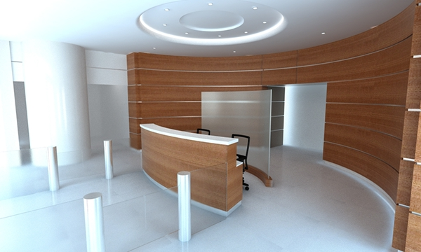 Dise o de oficinas on behance for Diseno oficinas