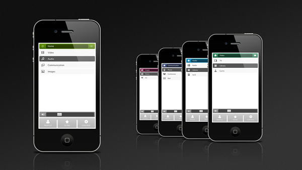 the pad app iphone remote control luxury apartment dubai Audio video Gaming environment