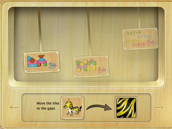 puzzle children educative ios cocos2d game