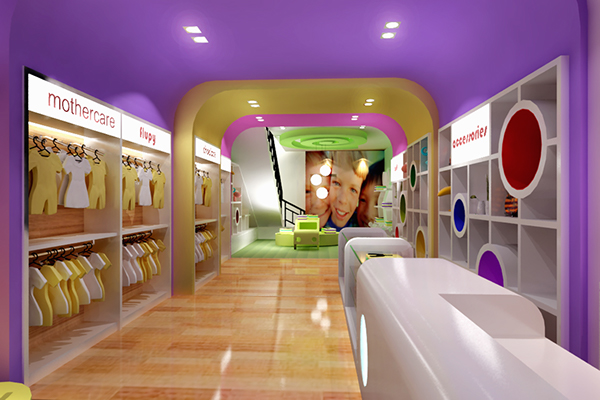BABY SHOP INTERIOR CITY RESORT JAKARTA on Behance