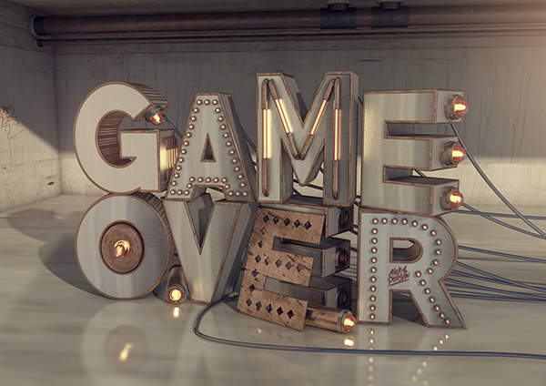 /// Game over /// by Alexis Persani