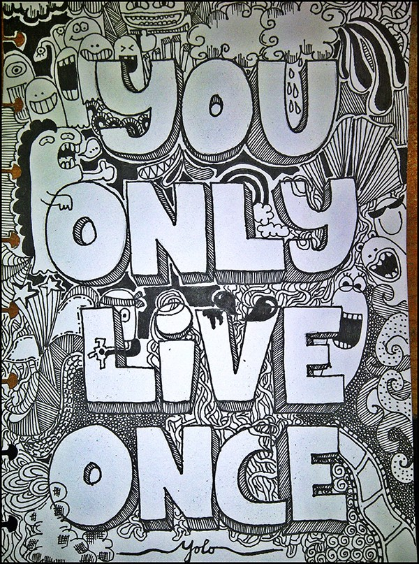 You Only Live Once | Movie fanart | fanart.tv  |You Only Live Once Drawing