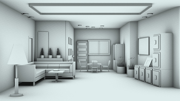 48d Design 48d Modeling And 48d Graphics On Behance New Bedroom 3D Design