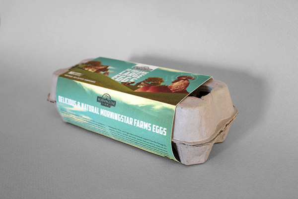 Morningstar farms eggs on behance for Design your own egg boxes