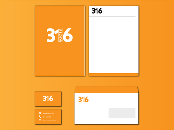 Logo Design Store Logo stationery design Business card design