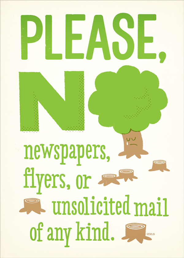 no junk mail on behance