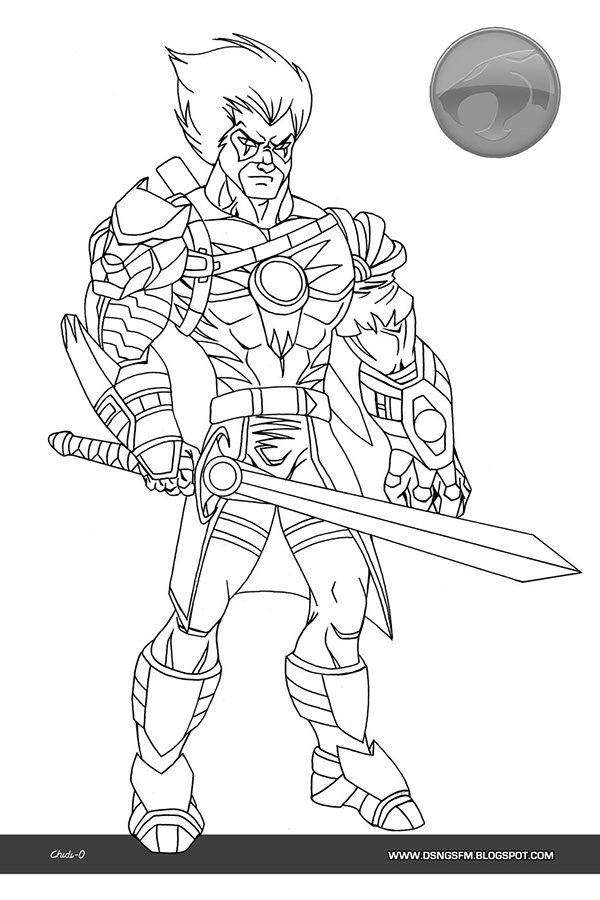cheetara thundercats coloring pages - photo#20