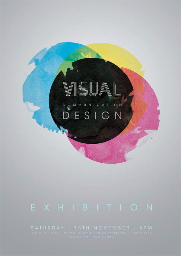 Visual Communication Design Poster On Behance