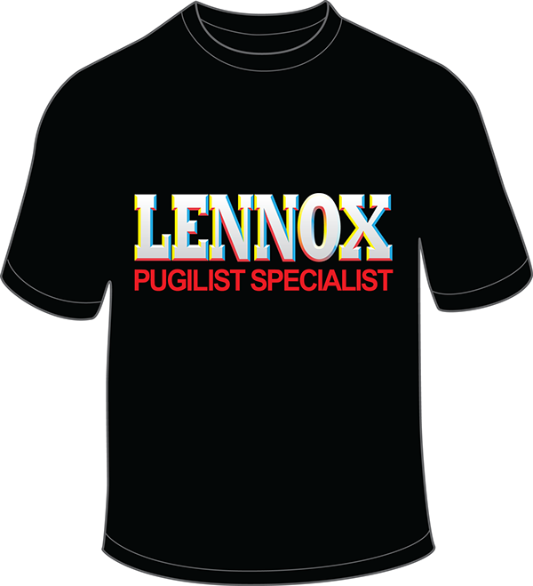 lennox lewis t shirt on pantone canvas gallery. Black Bedroom Furniture Sets. Home Design Ideas