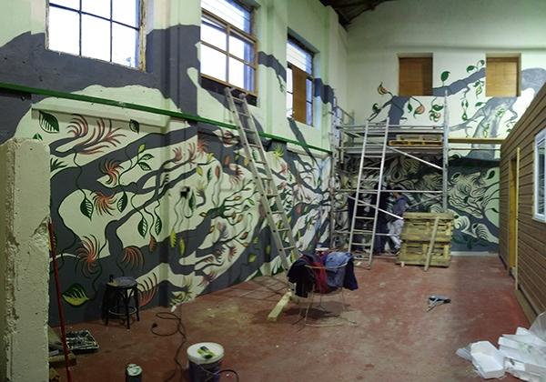 Mural Design on RISD Portfolios