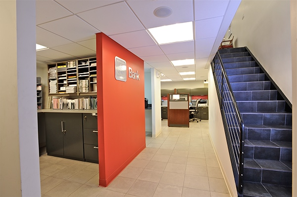 Insurance and financial service office project on risd for Office interior decoration services