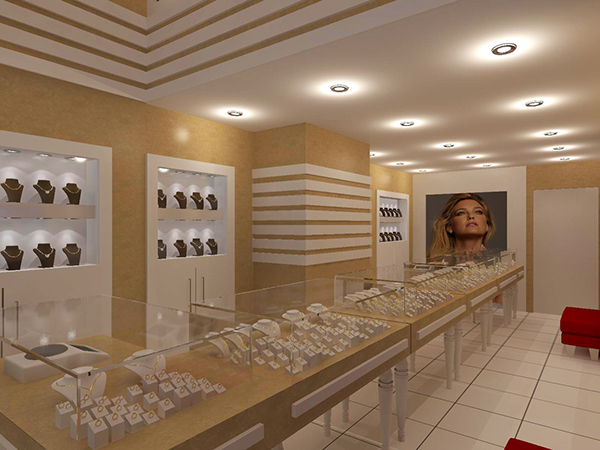 jewellery store on behance
