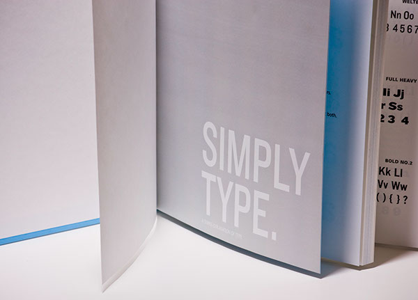 typographic workbook on behance