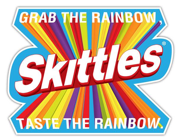 Skittles - Print Ad & POS on Behance Skittles Taste The Rainbow Logo