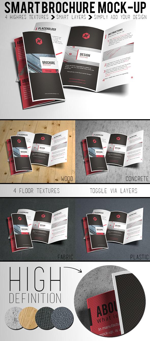 Free Brochure Mock Up On Behance