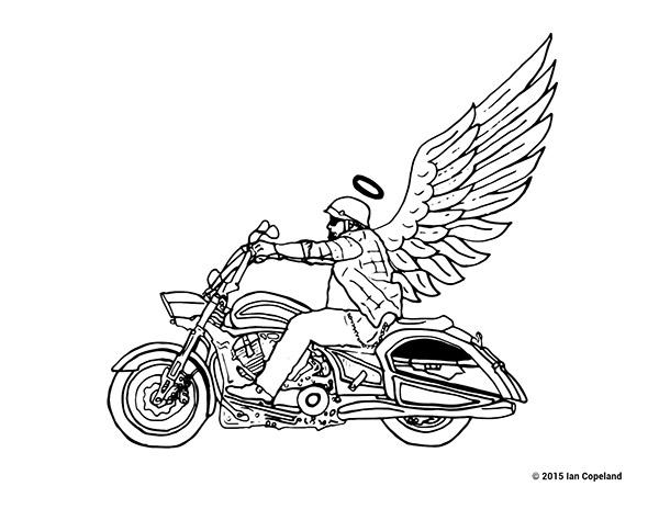 sturgis   u0026quot biker cemetery u0026quot  logo design on behance