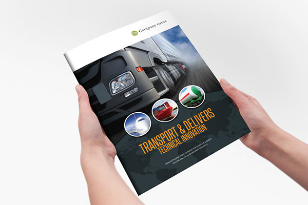Transport Delivery Indesign Template Brochure On Behance - Indesign template brochure