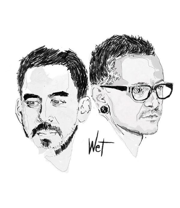 Chester Cheetah Illustrations On Behance: Linkin Park On Behance