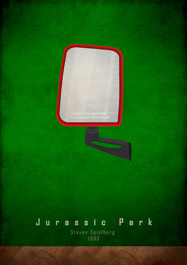 Jurassic park minimal poster minimalz group on behance for Minimal art vzla