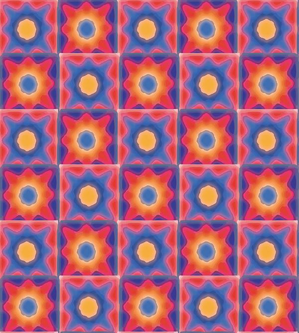 geometrical design Geo's squares shapes