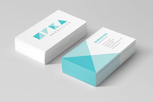 Orka Design orka design firm graphic design firm corporate branding geometric seattle stationary