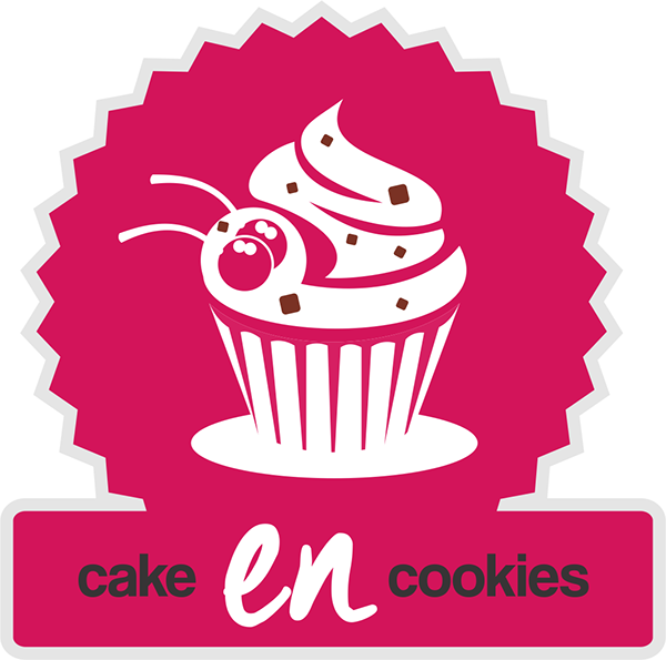 Cake Decorating Logo : Cake EN Cookies Logo Design & Packaging on Behance