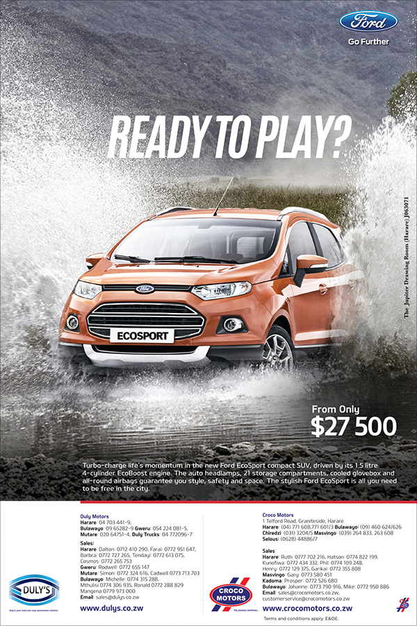 Ford Ecosport Ndeipi Mag Ad On Student Show