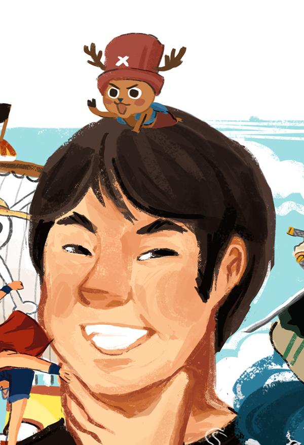 Eiichiro Oda - One Piece on Behance