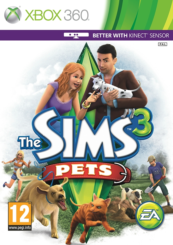 sims 3 pets Game Art