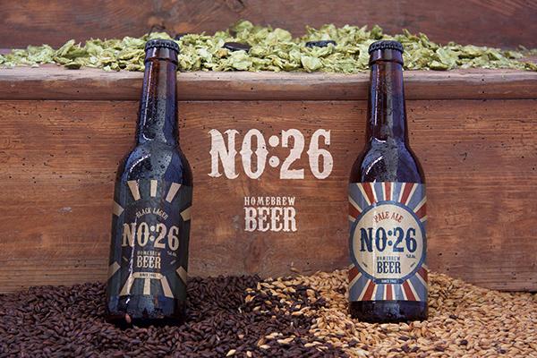 No:26 Homebrew Beer Packaging