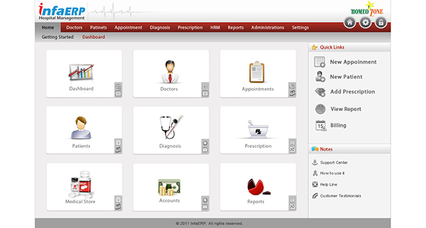 Hospital Management (HMS) UI Design on Behance
