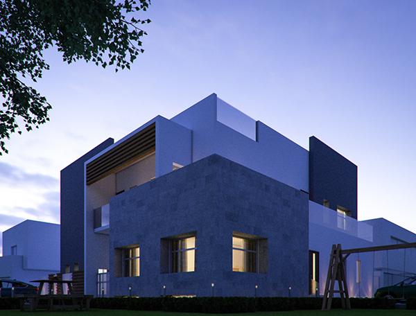 Modern Villa Elevation Design