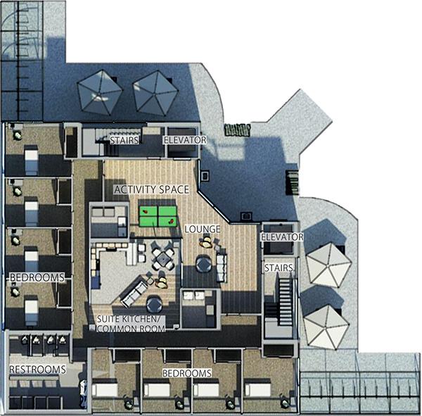 Origami Sustainable Student Housing On Behance