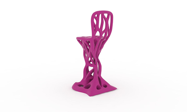 chair furniture model 3D Interior