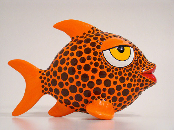 papier mache fish on behance