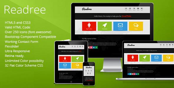 ReadRee – Multipurpose HTML Template on Behance
