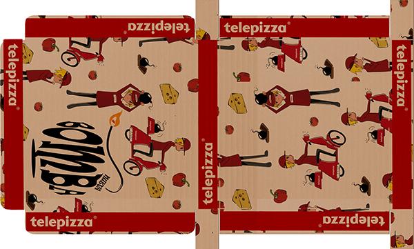 telepizza Bomba design