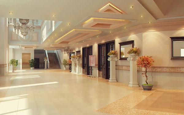 Banquet halls interior on behance for Banquet hall designs layout