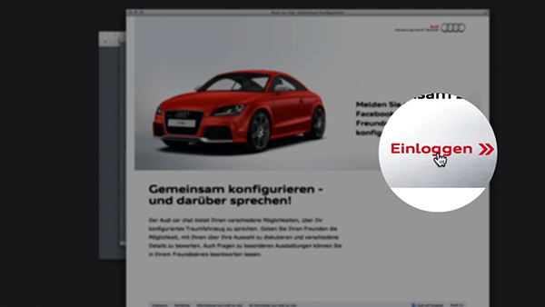Audi Car Chat Trailer