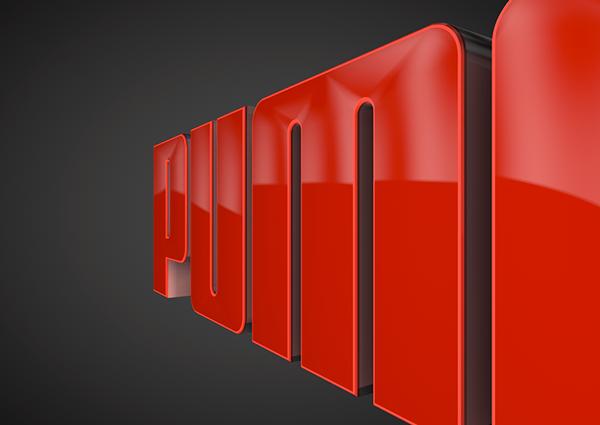 puma logo animation