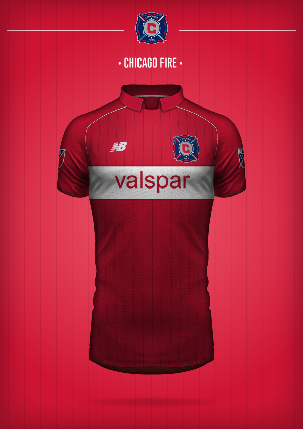 New Balance Chicago Fire Concept Kit