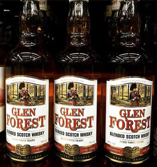 Whisky glen forest whisky&cola