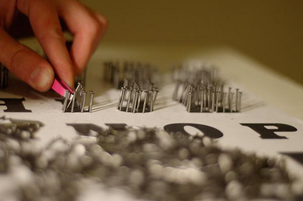 nails tease fonts typo abécédaire
