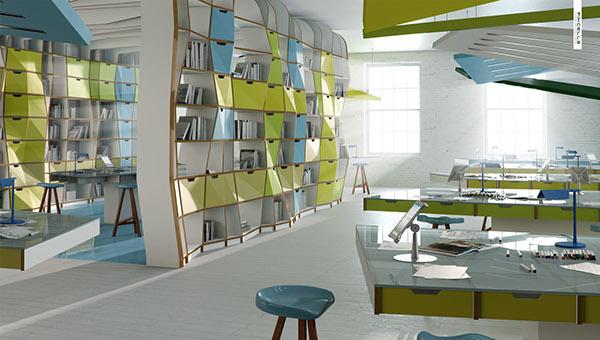 3D CGI visualisation design Interior photorealism contemporary kitchen Office bedroom livingroom