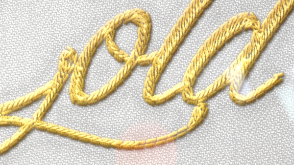 Realistic Embroidery - Photoshop Actions on Behance