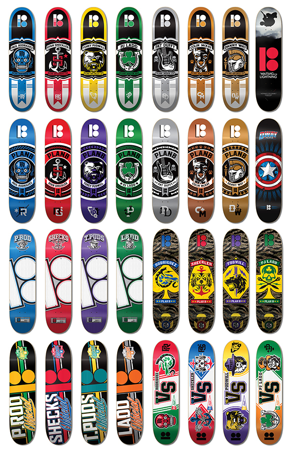 Plan B Skateboards on Behance