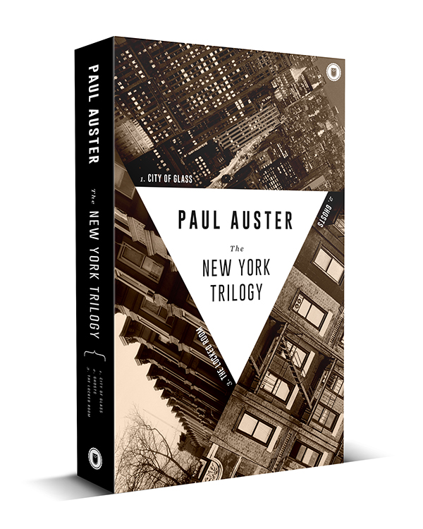 Book Cover Design Jobs Nyc : The new york trilogy book cover on behance