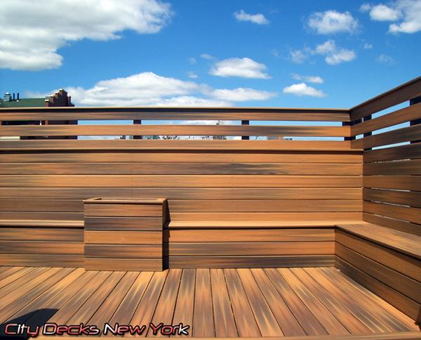 Composite ipe horizon deck carroll gardens brooklyn on for Fiberon horizon ipe decking