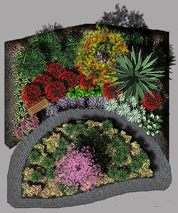 2D PHOTOSHOP CS6 GRAPHICS- Xeriscape Garden Colorado on ...
